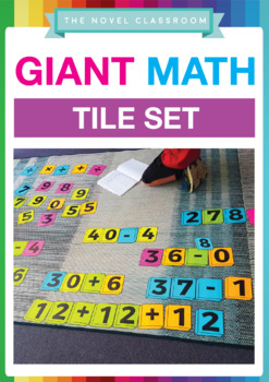 Giant Number and Math Symbol Tiles
