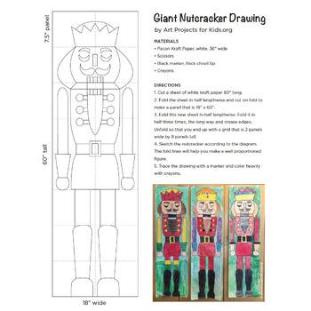 Giant Nutcracker Drawing