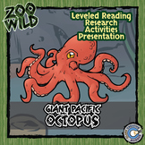 Giant Pacific Octopus - 15 Resources - Leveled Reading, Sl