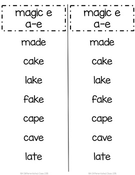 Giant Pack of Word Lists for Word Work and Word Study