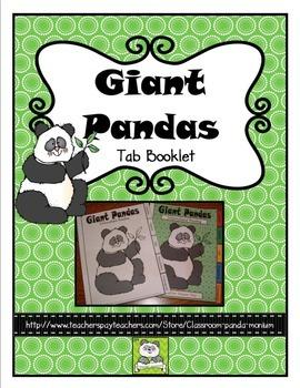 Panda Tab Booklet