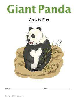 Giant Pandas Activity Fun