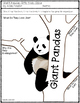 Giant Pandas: Gifts from China- Vocabulary and Comprehension {Level J}