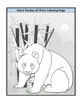 Giant panda coloring pages - Hellokids.com | 350x270