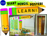 Giant Pencil Poster!