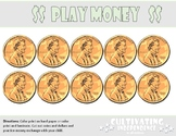 Giant Play Money