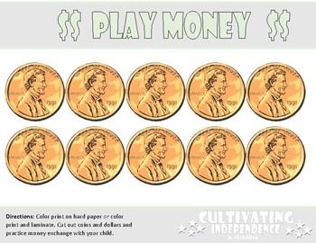 Giant Play Money