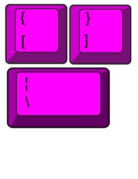 Technology Theme Giant Keyboard