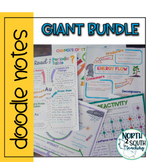 Giant Science Doodle Note Bundle - Growing Bundle