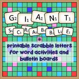 Giant Scrabble!
