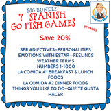 Giant Spanish Go Fish Game Bundle