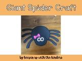 Giant Spider Craft