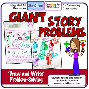 Word Problems Draw and Solve Giant Story Problems