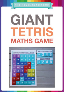 Giant Tetris Maths Game - Addition/Subtraction