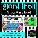 Giant Troll Fitness Game Board