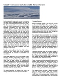 Giant Volcanoes in Antarctica Science Sub Plans Emergency lesson plans