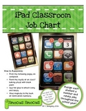 Giant iPad Classroom Job Chart