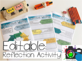 Gibbs' Reflective Practice Activity: Editable