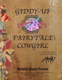 Giddy-Up Fairytale Cowgirl Bulletin Board Packet