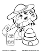 Summer Coloring Pages: Giddy-Up Fairytale Cowgirl