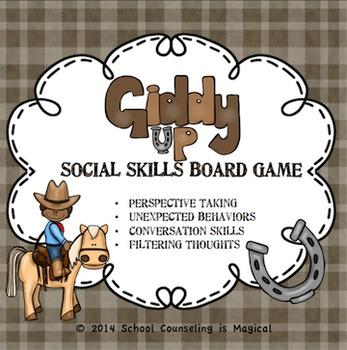 Giddy Up Social Skills Board Game