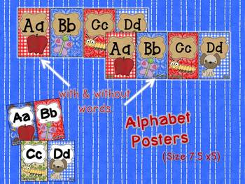 Giddy Up! Western Themed Alphabet Posters & Pennants