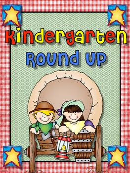 """Giddy Up"" for Kindergarten Round Up"