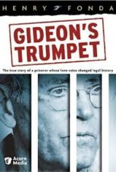 Gideon's Trumpet:The Story of Gideon v Wainwright (Note Taking Guide and Test)