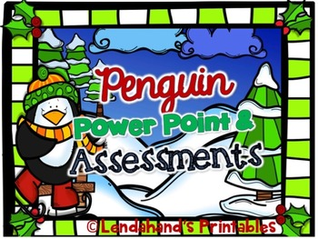 Nonsense Word Fluency Power Point and Assessment (Christma