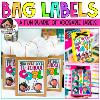 Gift Bag Labels - Growing Set