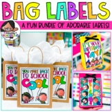 Gift Bag Labels - Growing Set