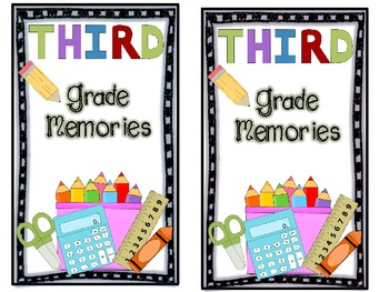 Gift Bag: Memory Books! {For grades 1st-5th}!!