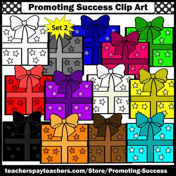 Birthday Presents Clipart Commercial Use SPS