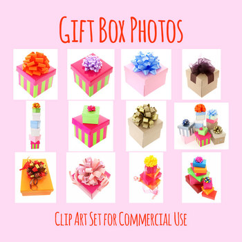 Gift Boxes Or Birthday Gifts Photos Clip Art For Commercial Use