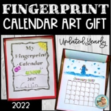 2019 Calendar for Parent Gift Fingerprint ART Keepsake GIFT UPDATED
