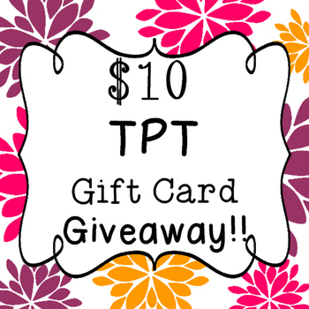Gift Card Give Away!!!!
