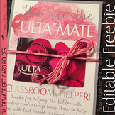 "FREE Gift Card Holder - ""Ulta""mate Helper and More!"