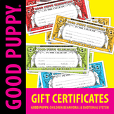 Gift Certificates . Child Behavioral & Emotional Tools by
