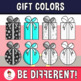 Gift Colors Clipart