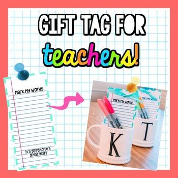 Gift For Team Teachers
