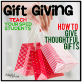 Gift Giving Guide for Special Education