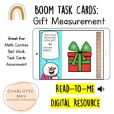 Gift Measurement: Boom Task Cards!