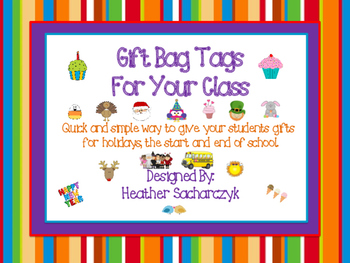 Gift Tag Bags