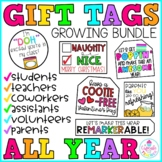 Gift Tags ALL YEAR (Growing Bundle)
