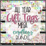 Gift Tags ALL YEAR growing MEGA BUNDLE!