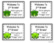 Back to School Gift Tags for 2nd Grade