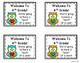 Back to School Gift Tags for 4th Grade