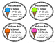 Back to School Gift Tags for 5th Grade