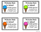 Back to School Gift Tags for Kindergarten