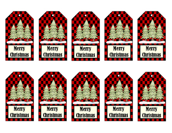 Gift Tags - Christmas Tags